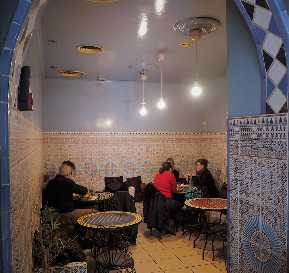 Moroccan food at Les Doigts d'Or de Fès. Picture Credit: Alice Fiedler